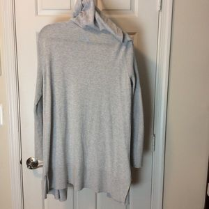 Athleta Sweaters - Athleta cardigan with hood  Size Large Gray